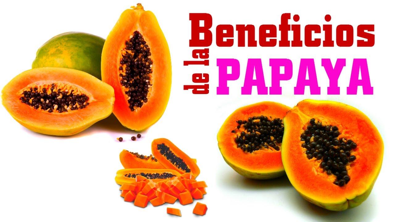 propiedades nutricional de la papaya