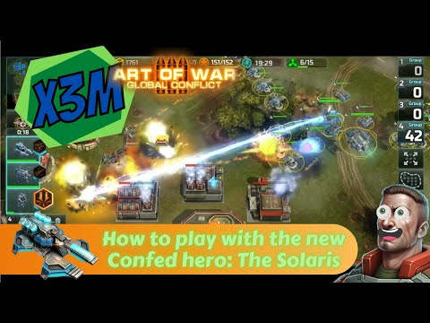 Art of War 3: Global Conflict - How to play with the Solaris