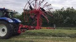 C&O Tractors - Kuhn GA 6501 P, 3 Point Linkage Mounted Twin Rotor Rake