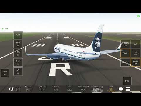 Takeoff from PANC (Ted Stevens Anchorage International Airport)