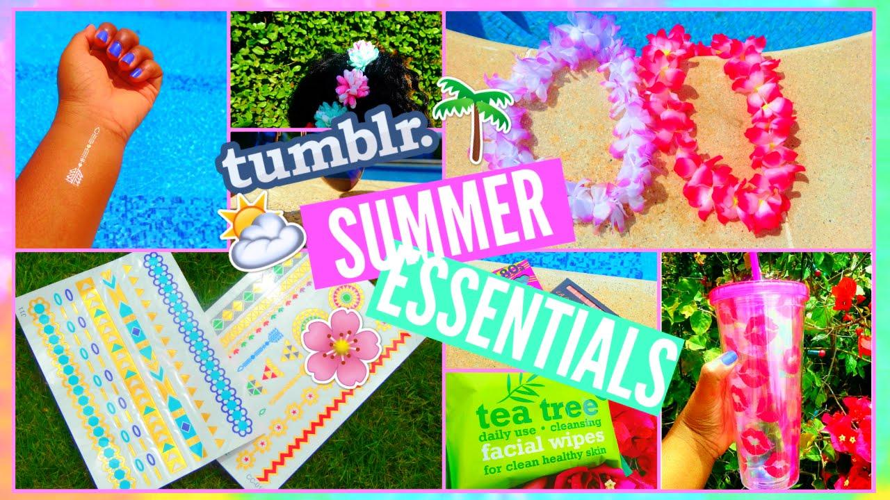 Summer Tumblr Beach Fun
