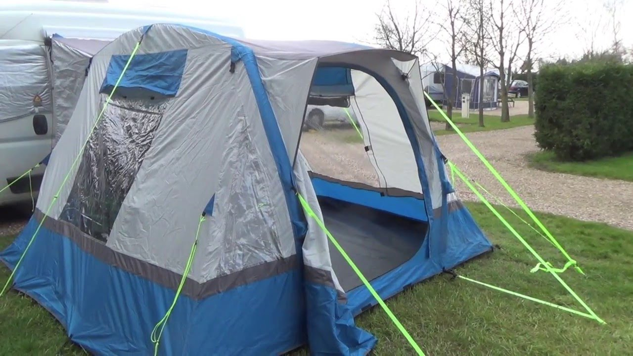 OLPro Cubo Breeze Inflatable Motorhome Awning