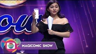OWW MENGGODA!!Liat Ariel Tatum Main Sulap Pakai Susu - Magicomic Show