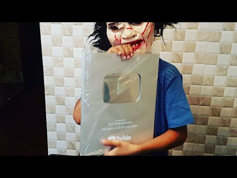Unboxing The New Silver Play Button Of FSA Entertainment