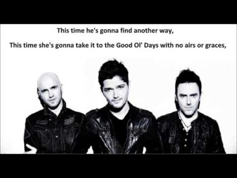 The Script - Broken Arrow (lyrics)