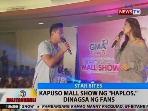 BT: Kapuso mall show ng 'Haplos,' dinagsa ng fans