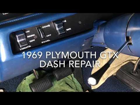 1969 GTX Dash And Gauge Repair