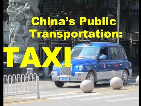 TAXI - Urban Transportation in China - Shenzhen/深圳