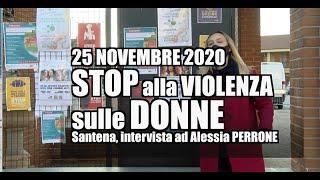 Santena stop alla violenza sulle donne 2020
