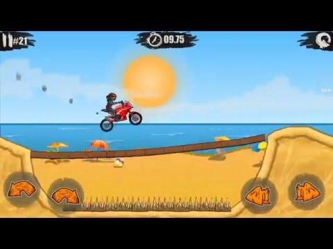 Moto X3M racing game เกมแข่งรถ เกมรถแข่ง เกมรถวิบากซิ่งมันส์มากๆ