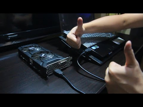 Desktop GPU On Your Laptop For CHEAP!
