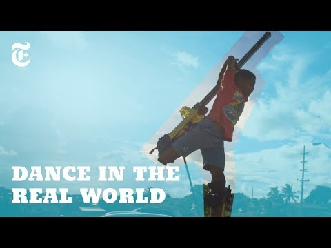 Dancing In the Air With 9-Foot Stilts
