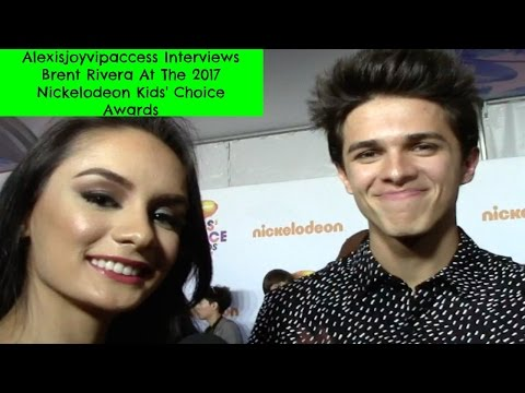 Brent Rivera Interview With Alexisjoyvipaccess -  2017 Nickelodeon Kids Choice Awards