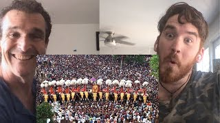 Thrissur Pooram the Festival American REACTION!!