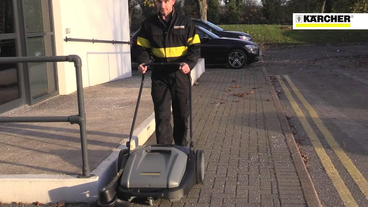 Karcher Km 70 15 Push Floor Sweeper Youtube