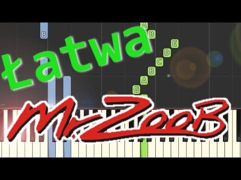 🎹 Mój jest ten kawałek podłogi (Mr. Zoob) - Piano Tutorial (łatwa wersja) 🎹
