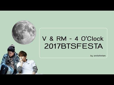 [THAISUB] 4 O'Clock (네시) by RM,V (#2017BTSFESTA)