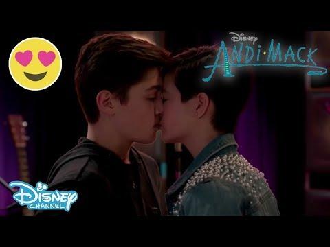 Andi Mack | Andi's Choice - Andi and Jonah Kiss | Official Disney Channel US