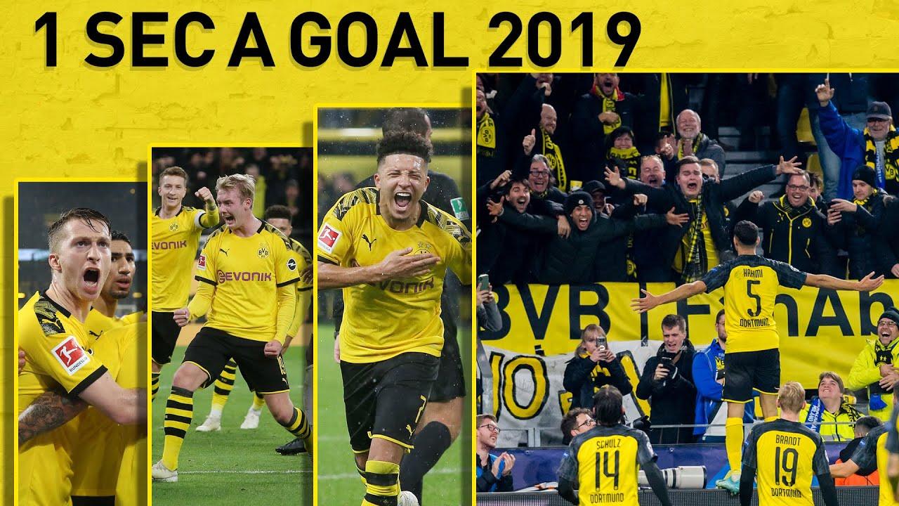 ALLE 97 Tore von Borussia Dortmund 2019 | 1 Second A Goal