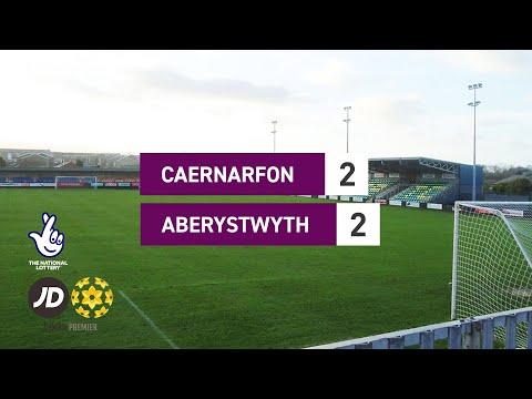 Caernarfon Aberystwyth Goals And Highlights