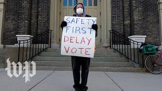 Wisconsin governor orders election delay citing public health concerns
