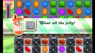 Candy Crush Saga Level 809 walkthrough (no boosters)