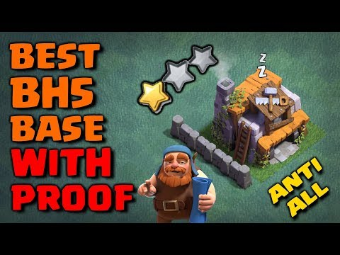 BH5 Anti 1 Star Base With Proof 2018   NEW Builder Hall 5 Base With Replays   Anti Giant/Air Troops