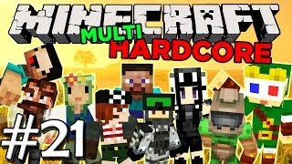 Minecraft MultiHardcore: Episode 21 - Alene i natten