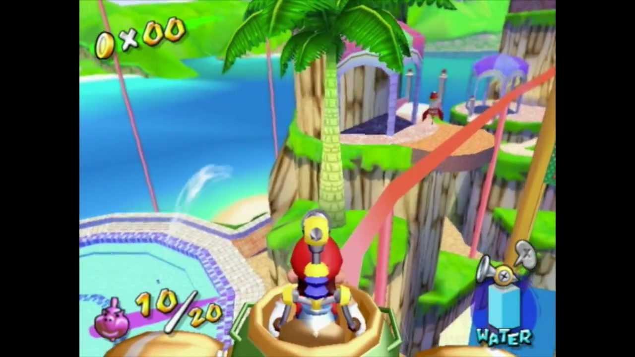 8ec86fcd4e4 Super Mario Sunshine - Hawaiian Shirt Day - YouTube