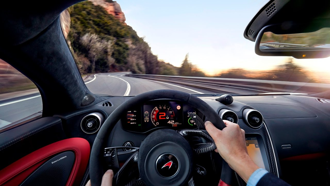 McLaren 570S – For the drive