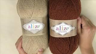 Kilka słów na temat...włóczki Alize Alpaca Royal