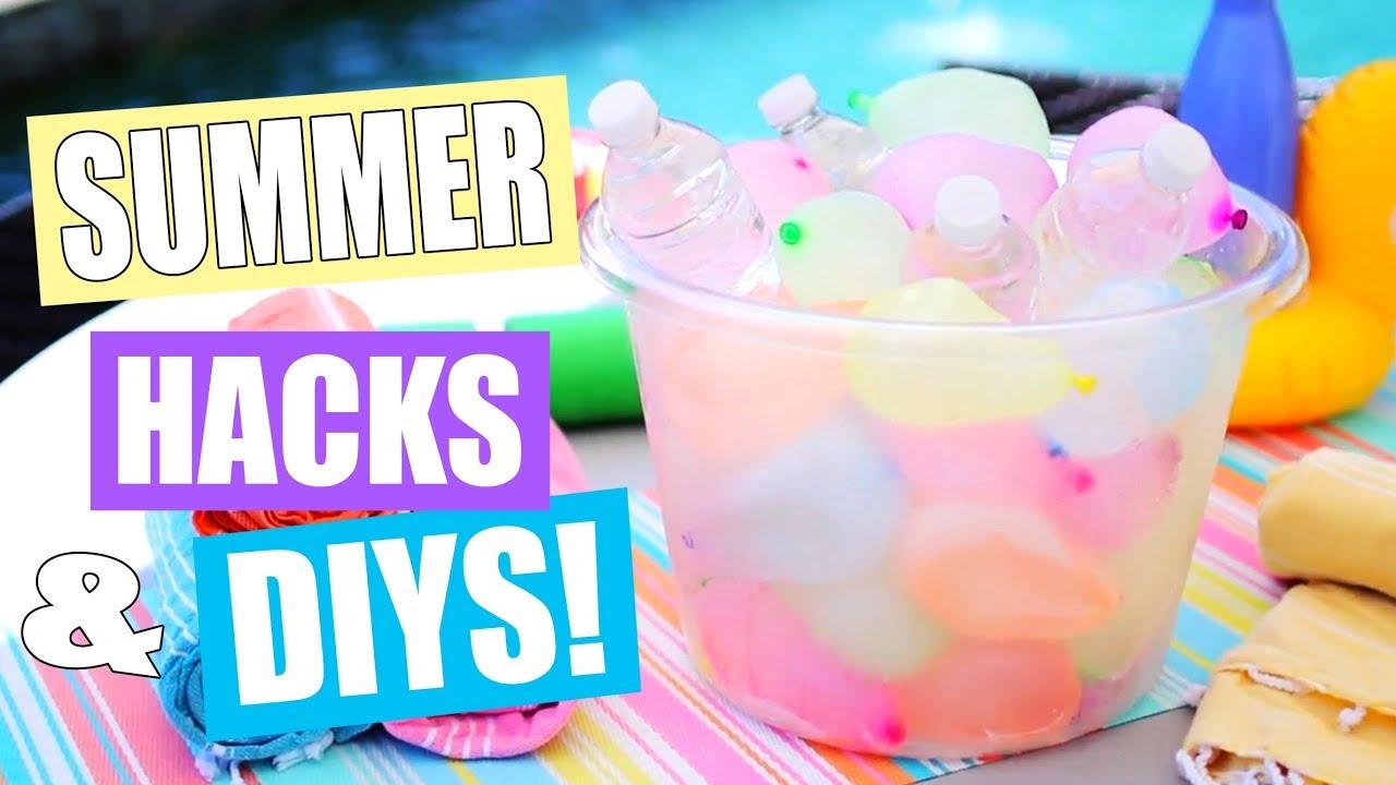 10 Summer Life Hacks/DIYs!