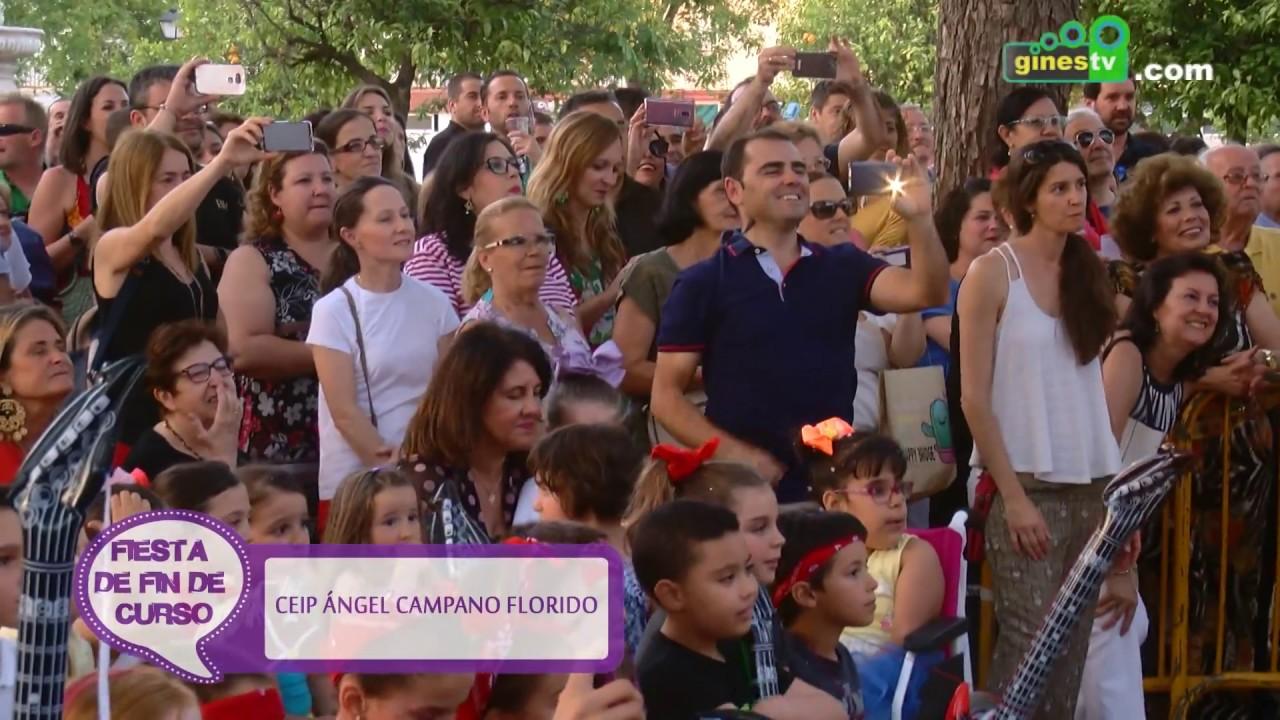 Fiesta fin de curso CEP Ángel Campano de Gines 2017-2018 (resumen)