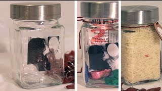 Diy Gift Ideas: Using A Jar (valentines, Christmas, Anniversary, Wedding, Etc)