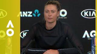 Maria Sharapova press conference (2R) | Australian Open 2018