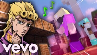 using giorno's theme to win skywars