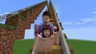 マイクラでドライブスルーごっこ Minecraft Drive Thru Pretend Play! thumbnail