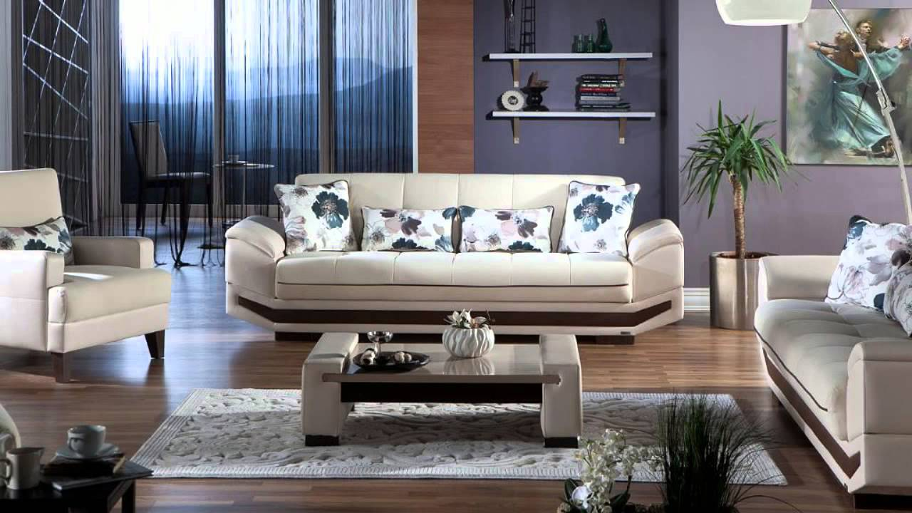 Dizayn Deluxe Living Room Set by Istikbal Furniture - YouTube
