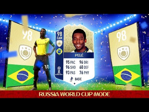 OMG 98 PELE IN A PACK! 10 x WORLD CUP ICON SBC PACK OPENING!