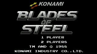 Blades of Steel - NES Gameplay