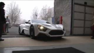 Danish Super Sports Car Zenvo ST1 back from Dubai