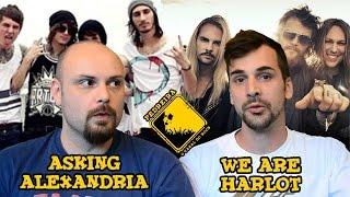 PEDREIRA 25 ASKING ALEXANDRIA WE ARE HARLOT
