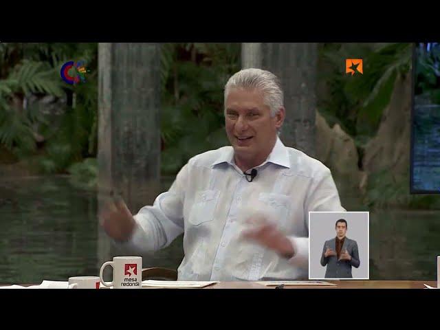 Díaz-Canel: Los problemas se resuelven entre cubanos en la Revolución