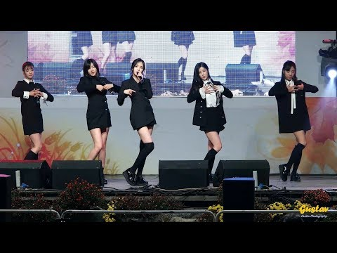 [직캠/FANCAM] 171028 에이핑크(Apink) FIVE, 내가 설렐 수 있게(Only One), Mr. Chu, NoNoNo, LUV
