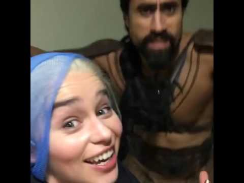 Khal and Khaleesi singing Tupac