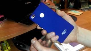 Синий чехол iMak для ZTE Nubia Z11 mini S