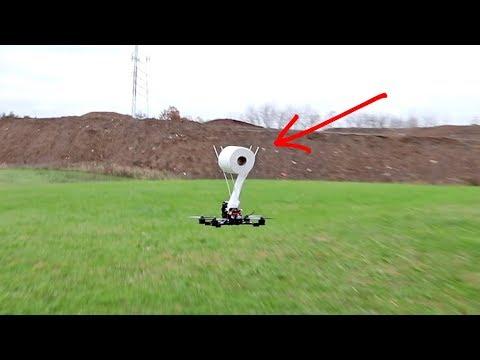 FLYING TP DRONE!   VLOG0124