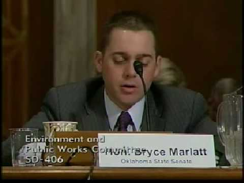 Oklahoma State Senator Bryce Marlatt Testifies Before EPW Committee on Oklahoma Transportation Needs