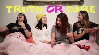 Truth or Dare w/ Natasha & Elise PART 1 - Pillow Talk