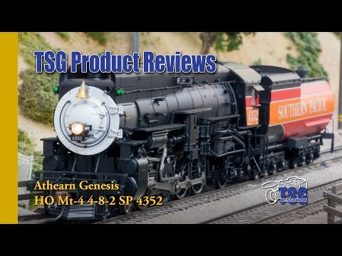HO Scale Mt-4 4-8-2 Southern Pacific Daylight Athearn Genesis Product Review